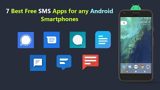 7 Best Free SMS Apps for any Android Smartphones. screenshot 1