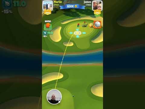 Martin Draper Eagle for 600k Golf Clash - 2017-12-16