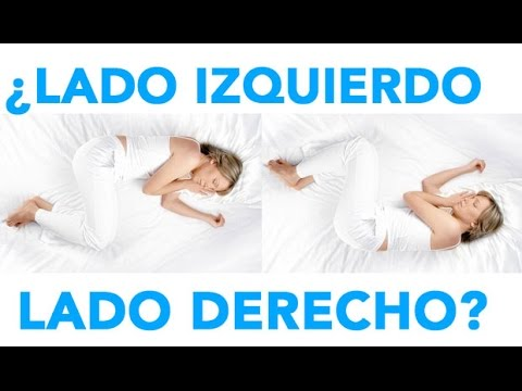 dormir por el lado izquierdo