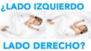 Esto pasa con tu cuerpo al dormir del lado izquierdo