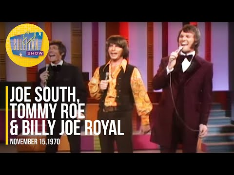 "Joe South, Tommy Roe & Billy Joe Royal ""Games People Play"" on The Ed Sullivan Show"