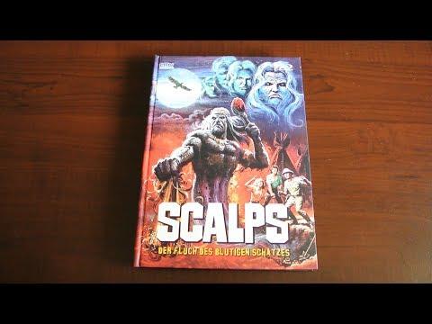 SCALPS - Der Fluch des blutigen Schatzes Blu-Ray DVD Mediabook CMV Slasher 80s streaming vf