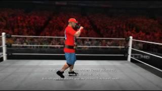 Let's Play WWE'12 Road to Wrestlemania [Deutsch] #007 Champion!