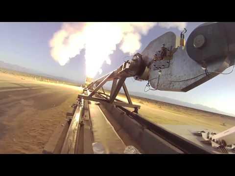 Rocket Sled Parachute Design Verification