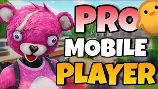 PRO FORTNITE MOBILE PLAYER ON IPAD // 170+ Wins // FAST BUILDER! // Fortnite Mobile Gameplay!