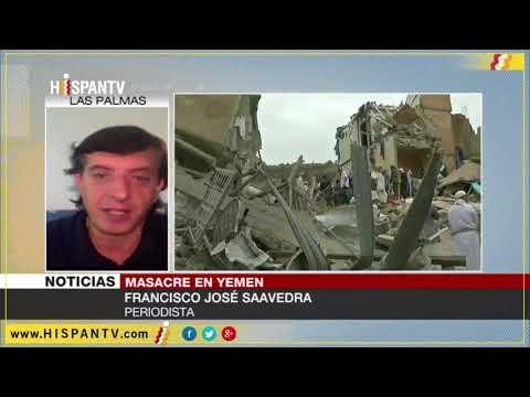 Intervención informativo Hispan TV sobre la guerra en Yemen