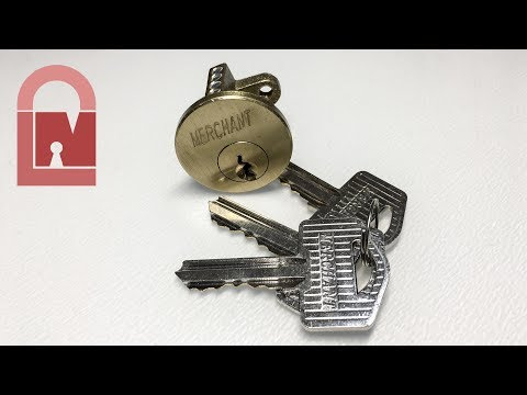 (381) Merchant Rim Cylinder Pick, Rake and Gut