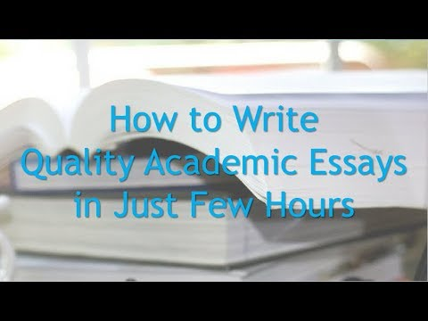 English Essay Example How To Write Quality Essays In Just A Few Hours Buy Essay Papers Online also Psychology As A Science Essay How To Write Quality Essays In Just A Few Hours  Youtube Topics English Essay