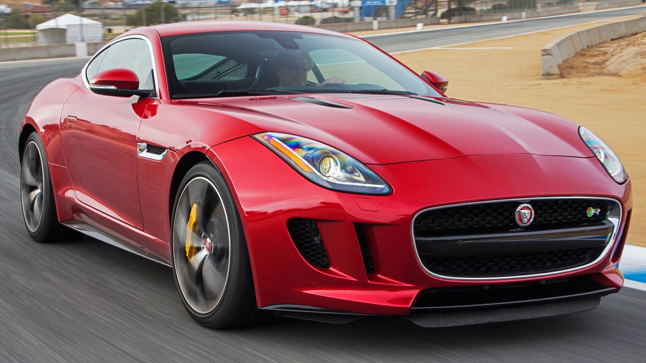 2015 Jaguar F Type Coupe R Hot Lap!   2014 Best Driveru0027s Car Contender    YouTube