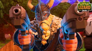 NOOBS STEAL FROM RAGNAROK!?! *SEASON 5 NEW SKINS*Fortnite Short Film