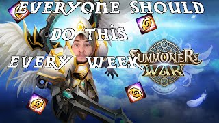 You Should Be Doing This Every Week In Summoners War! (Weekly Rewards)