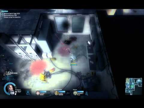 Xixle Ir McGman žaidžia Alien Swarm Nr.5 - 1 Dlis