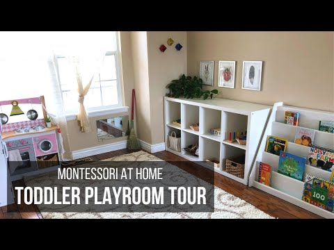 MONTESSORI TODDLER PLAYROOM TOUR