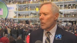 Secretary of the Navy Ray Mabus discusses looming sequestration.