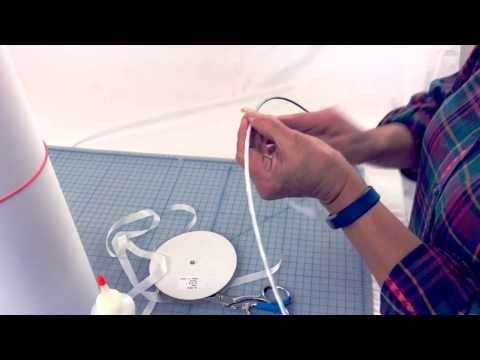 How to make a Custom Lampshade: Custom Laminated or Paper Lampshade