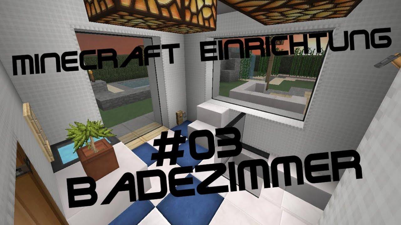 minecraft einrichtung mit jannis gerzen 03 badezimmer. Black Bedroom Furniture Sets. Home Design Ideas