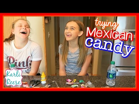 TRYING MEXICAN CANDY