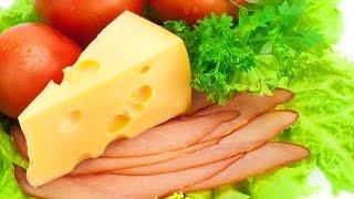 салат с ветчиной за 2 минуты | #edblack