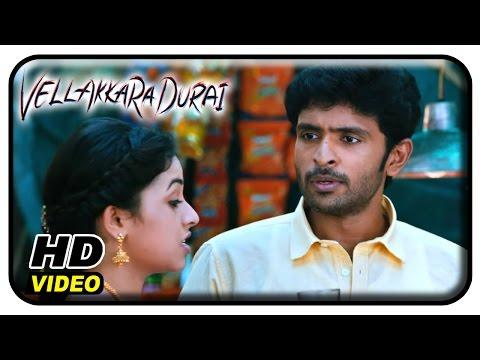 Vellaikaara Durai Movie Scenes | John Vijay takes back Sri Divya | Vikram Prabhu | Soori