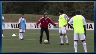 Fussball Training: U19 FC Schalke 04 Angriffsfussball 3 - Spiel in die Tiefe
