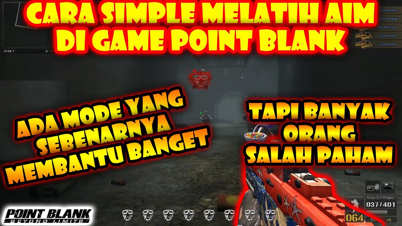 Cara Melatih Aim Point Blank Point Blank Zepetto 2020 Youtube