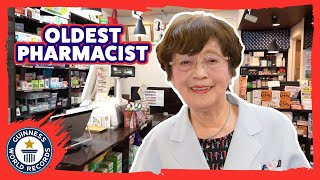 YouTube動画:Oldest Pharmacist in the world! - Meet The Record Breakers