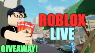 🔴Roblox And More Fun 🔴  ROBLOX GIVEAWAY!   Roblox Livestream  Family Friendly Streamer