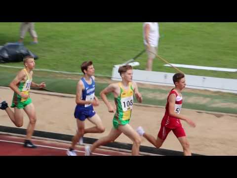 Balti matš B-klassi poiste 2000m jooks 2016