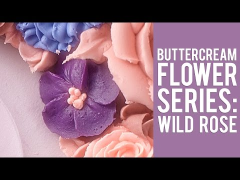 How to Make a Buttercream Wild Rose