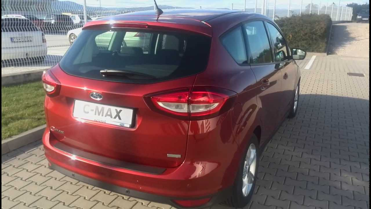 Ford C-MAX Red Rush Edition X (Trend) - YouTube