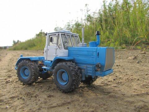 Масштабная модель трактор