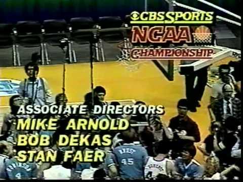 03/29/1982 NCAA National Championship Game: Georgetown Hoyas vs. North Carolina Tar Heels (Part II)