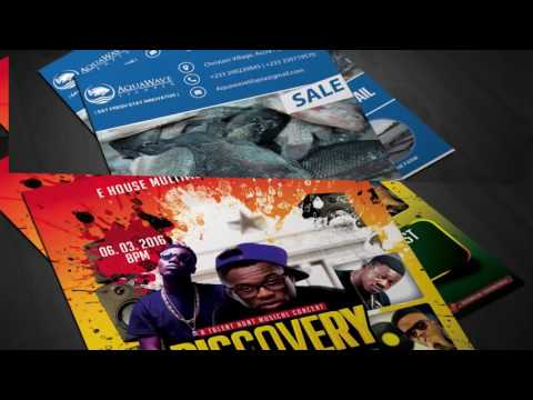 CHRONIXX GROUP GHANA GRAPHIC DESIGN SHOWREEL 2016