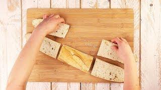 Чесночный Багет С Сыром: Вкусный И Очень Простой Рецепт Для Перекуса