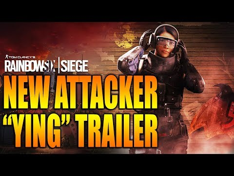Rainbow Six Siege - In Depth: NEW ATTACKER YING TRAILER - Operation BLOOD ORCHID Season 3 HONG KONG