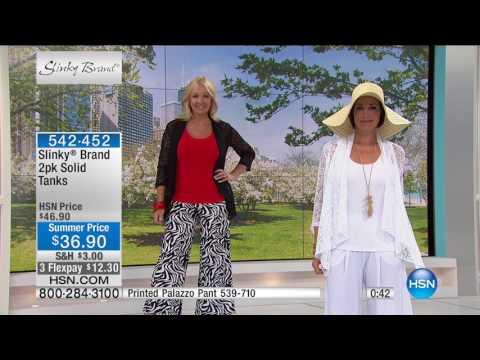 HSN | Slinky Brand Fashions 06.09.2017 - 05 AM