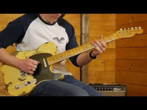 Fender CS 2017 Limited NAMM '51 Nocaster Heavy Relic