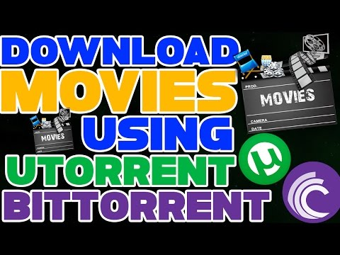 how to download movies using utorrent...
