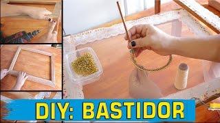 DIY: Como Fazer um Bastidor de Bordar Pedrarias