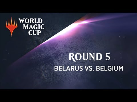 2018 World Magic Cup Round 5 (Standard): Belarus vs. Belgium