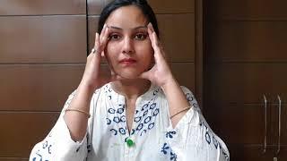 5 मिनट कर ले ये चेहरे की मसाज कभी नहीं आएगा बुढ़ापा / anti aging glowing skin face Massage technique