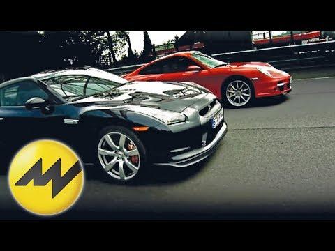 Vergleich Nissan GTR vs. Porsche 911 Turbo Patrick Simon ver
