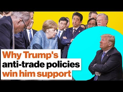 Why Trumps antitrade policies win him support