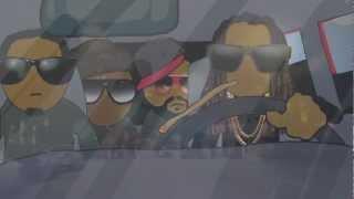 """2 Chainz """"Dope Peddler"""" Video Cartoon by HdotRoss"""