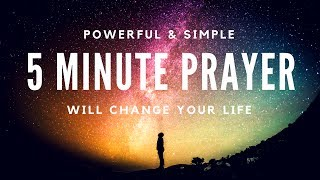 5 Minute Prayer to Change Your Life -Kat Kerr