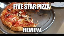 Five Star Pizza Restaurant Review In My City