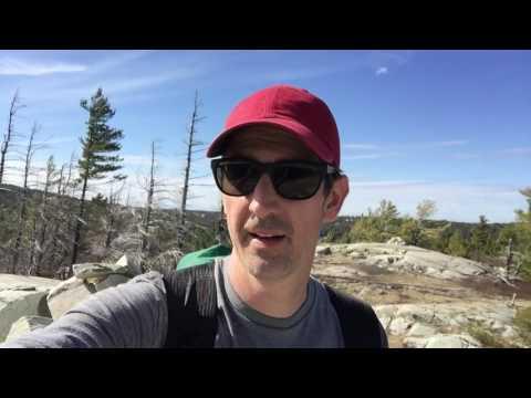 La Cloche Silhouette Trail - Solo Hike -  April 29 - May 1, 2016