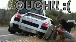 Lamborghini Gallardo Sound + ACCIDENT!!
