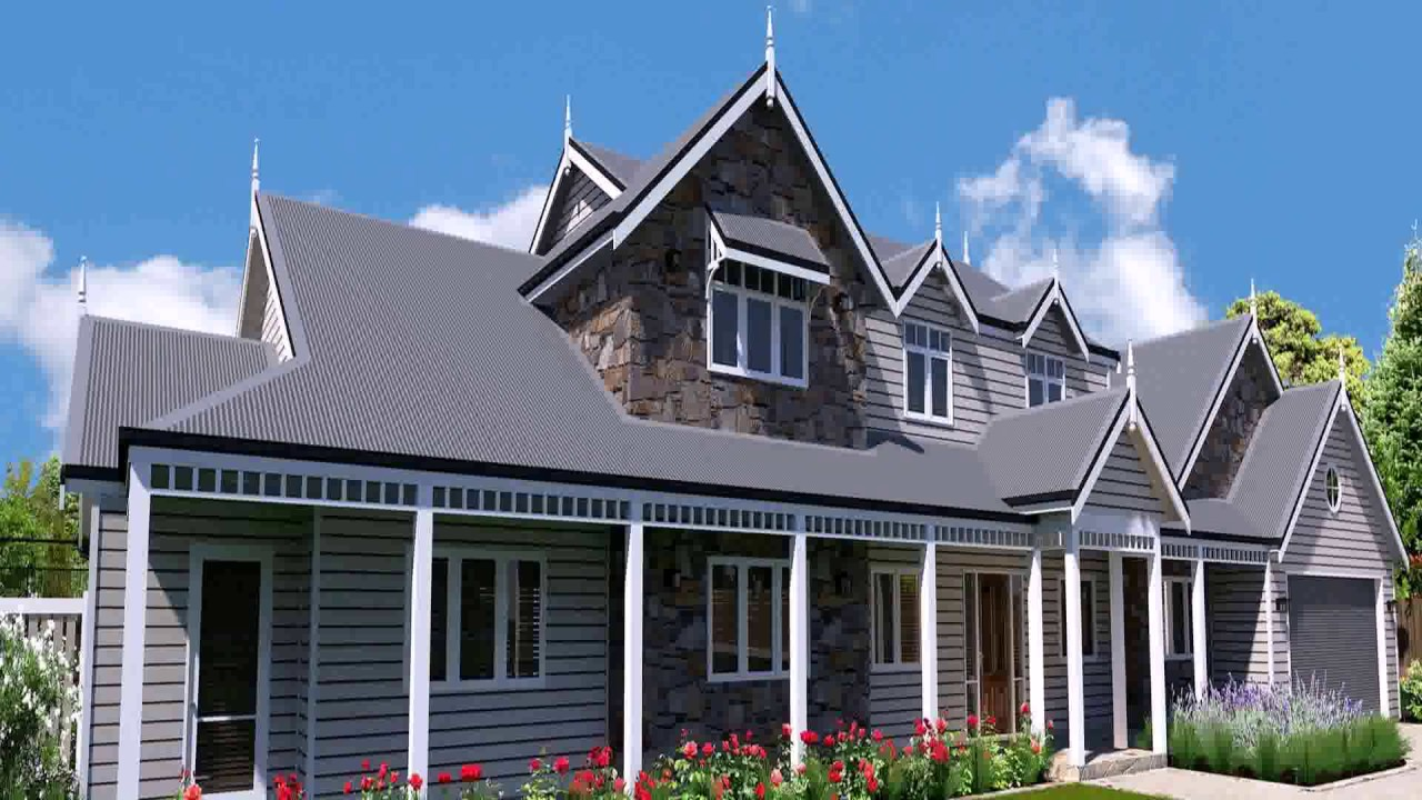 Country Style Homes Designs Nsw - YouTube