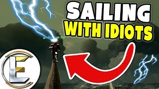 Sailing With Idiots - Sea Of Thieves (Treasure Hunters)